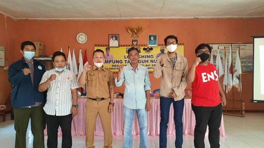Bekerjasama dengan Pemerintah Desa Tejang Pulau Sebesi di Lampung Selatan, Dosen Prodi Teknik Elektro ITERA Gagas Desa Mandiri Energi